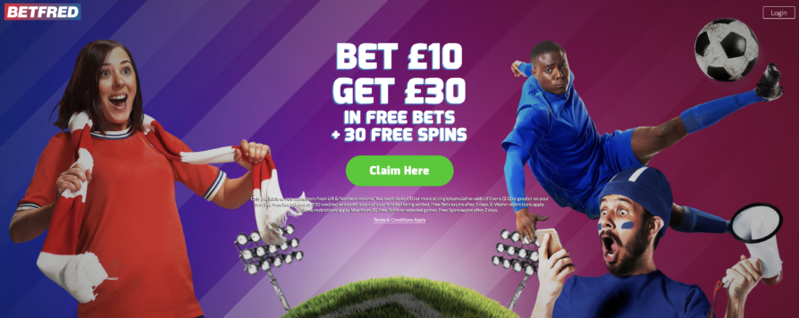 Betfred Welcome Offer
