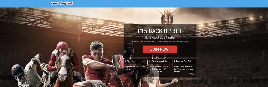 SportingBet Review & £15 Free Bet | Max Free Bets UK