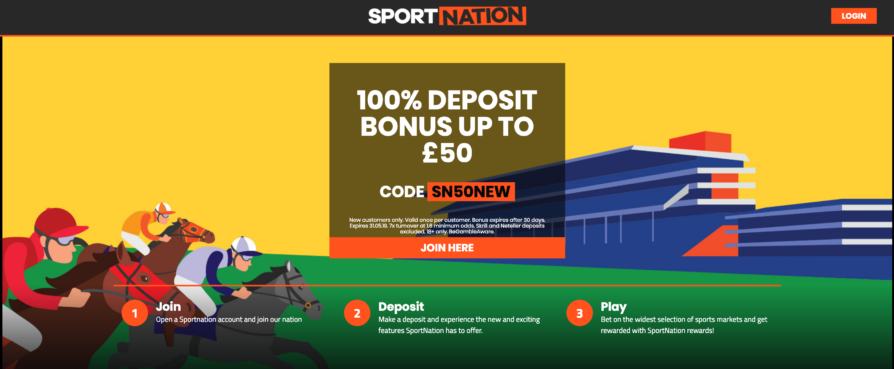 Sportnation.bet Free Bet