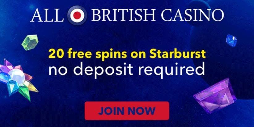 All British Casino No Deposit Casino