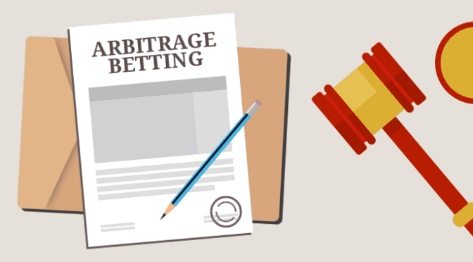 arbitrage betting graphic