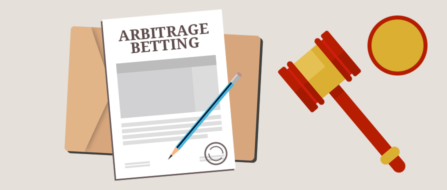 arbitrage betting graphic