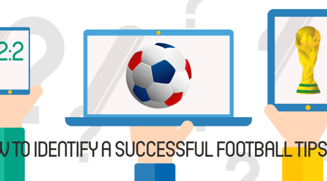 How to Identify a successful football tipster graphic