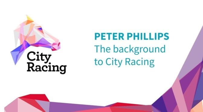 city racing graphic