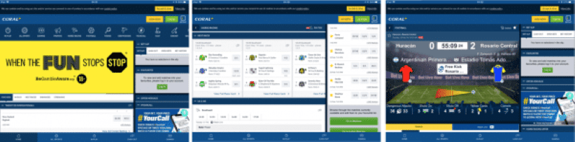 coral mobile app betting app