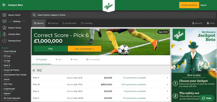 mr green mobile sports betting app review