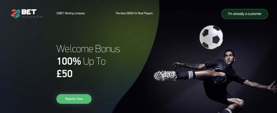 22Bet Review & Free Bet - Get Yours Today | MaxFreeBets co uk