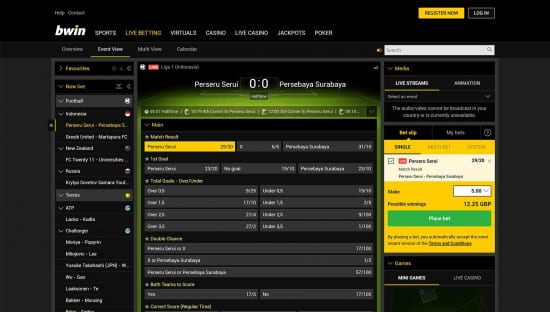 bwin mobile betting app review