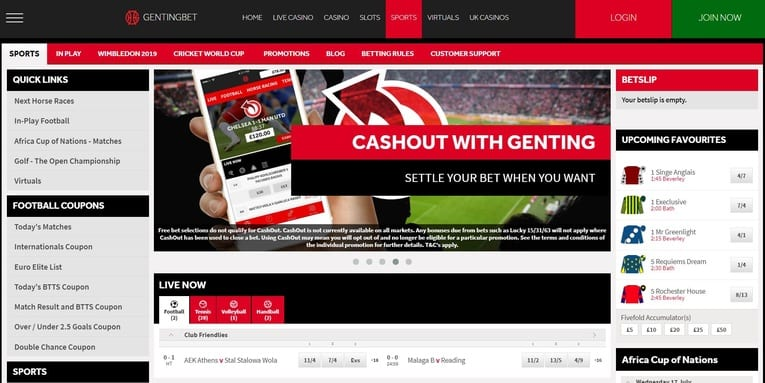 gentingbet mobile app betting review