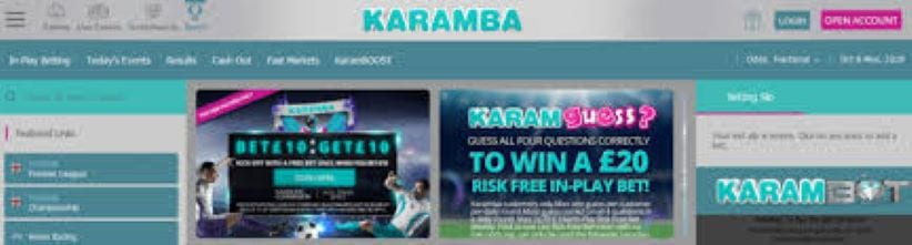 karamba betting app review mobile sports betting