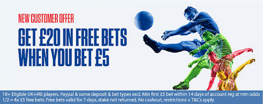 Coral £20 free bet promo code