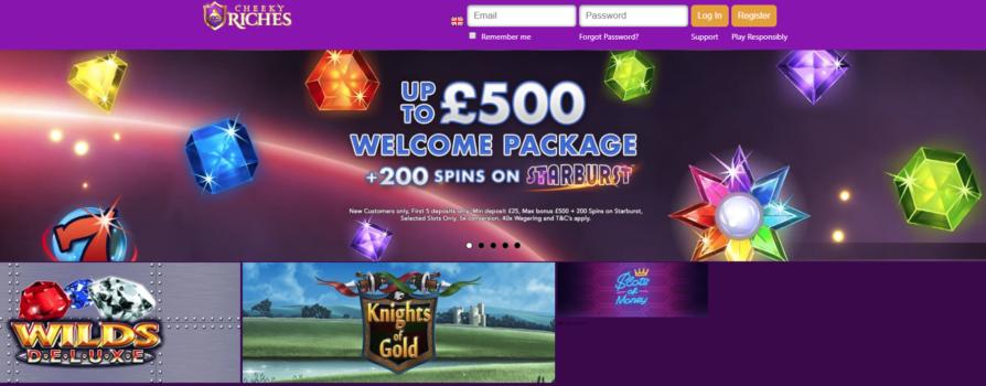 Cheeky Riches Casino Bonus