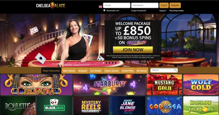 Chelsea Palace Casino Bonus