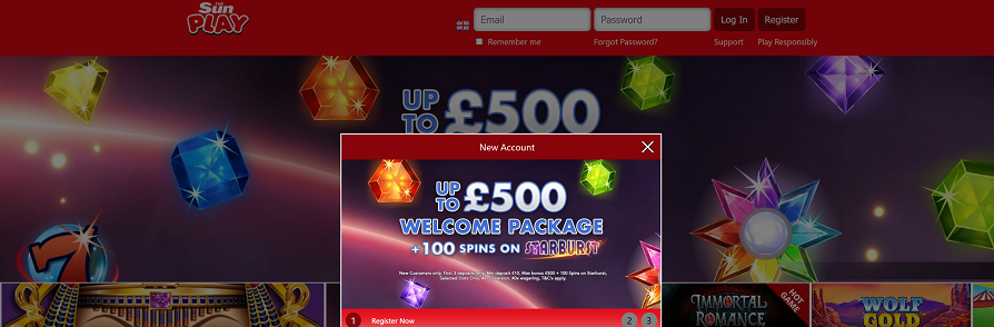SunPlay Casino Bonus