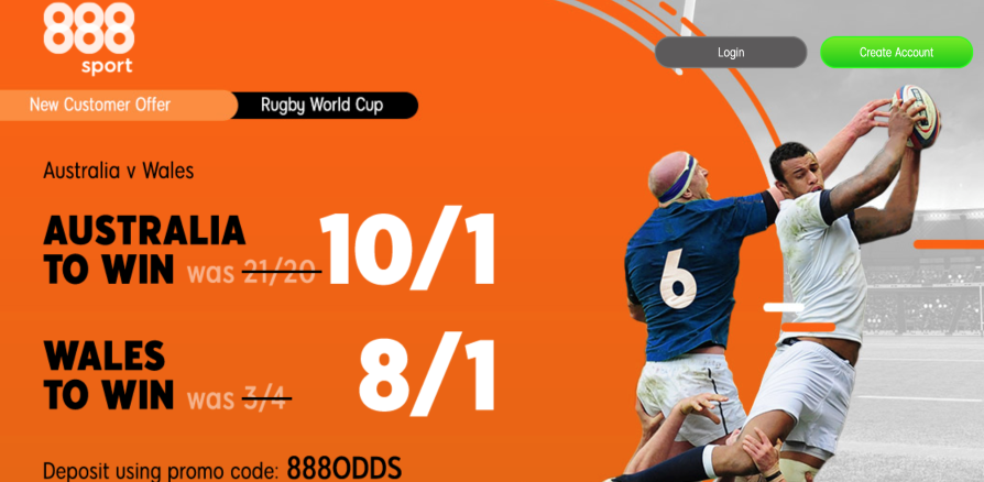 Rugby betting promotions