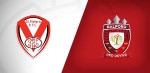 St Helens v Salford Red Devils Super League Play-Off Final