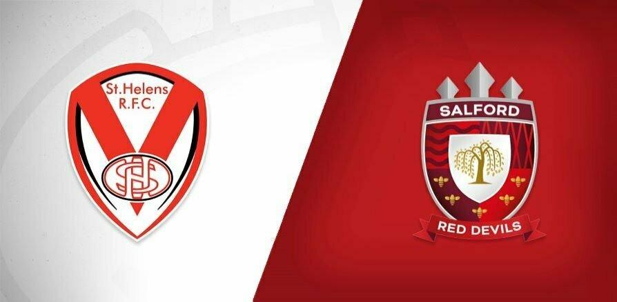 St Helens v Salford Red Devils