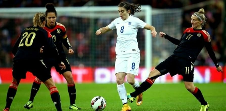 Women's England v Germany
