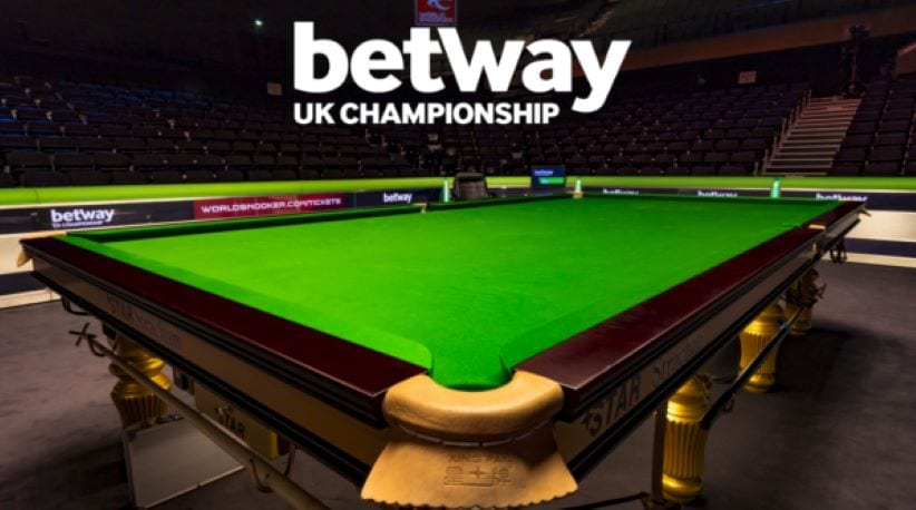 Betway snooker UK championship